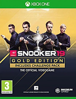 Snooker 19 Gold Edition Xbox One