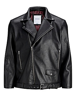Jack & Jones Originals Black Biker