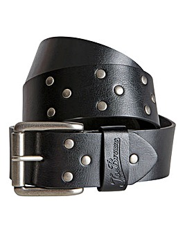 Joe Browns Black Leather Studded Belt