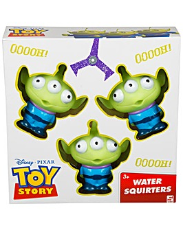 Toy Story Alien 3Pk Water Squirters