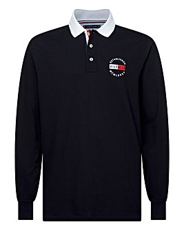 Tommy Hilfiger Badge Long Sleeve Polo