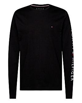 Tommy Hilfiger Logo Long Sleeve T-Shirt