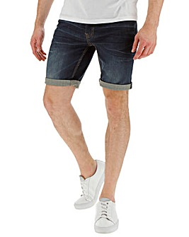 Lambretta Dark Wash Denim Short