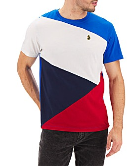 Luke 1977 Albert Colour Block T-Shirt