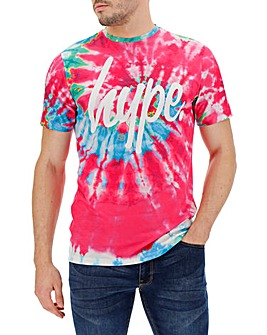 Hype Tie Dye T-Shirt Long