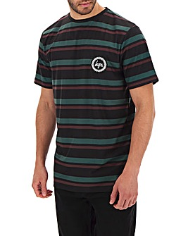 Hype Forrest Stripe T-Shirt Long