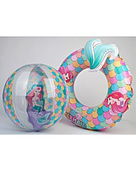 Disney Princess Swimring And Beach Ball
