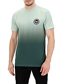 Hype Olive Fade T-Shirt Long
