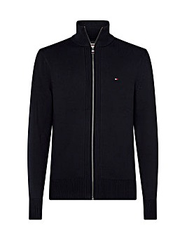 Tommy Hilfiger Chunky Cotton Zip Through