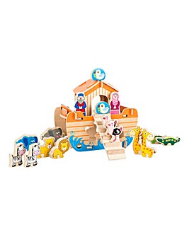 Noah's Ark Wooden Kids Construction Game