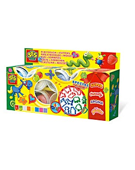 Children's Play Dough and Cutters Set