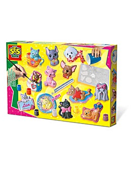 Cats and Dogs Casting and Painting Set