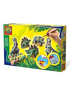 Dinosaurs Casting and Painting Set