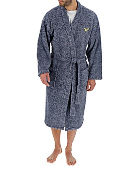 Voi Navy Dressing Gown