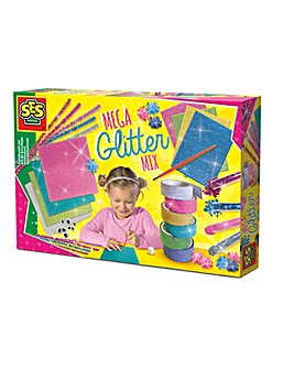 Mega Glitter Mix Handicraft Set