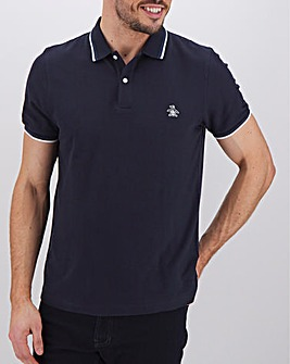 Original Penguin Tipped Pique Polo Long