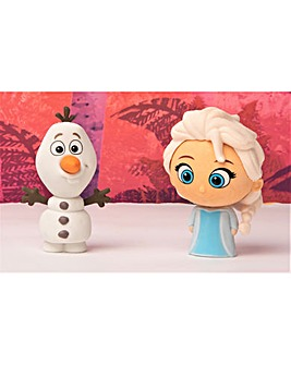 Disney Frozen Giant Puzzle Eraser -  Elsa And Olaf - Sambro
