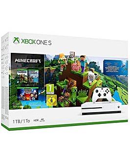 Xbox One S 1Tb Minecraft Console