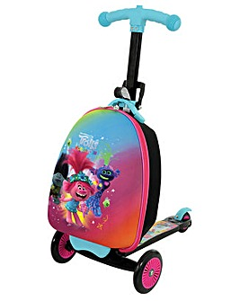 Trolls 2 3in1 Scootin Suitcase