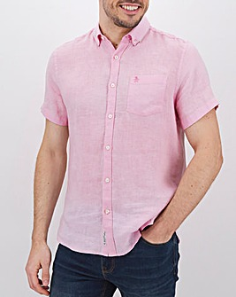 Original Penguin Linen Shirt Long