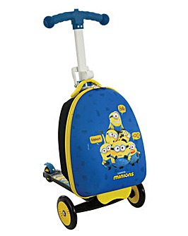 Minions 2 3in1 Scootin Suitcase