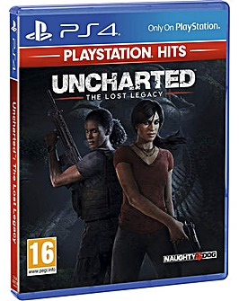 Uncharted The Lost Legacy HITS PS4