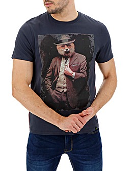 Joe Browns Dapper Fox T-Shirt Long