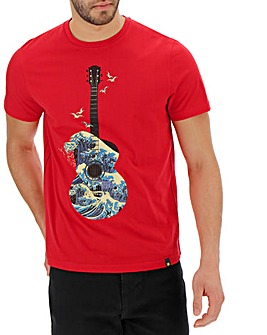 Joe Browns Wave Of Sound T-Shirt Long