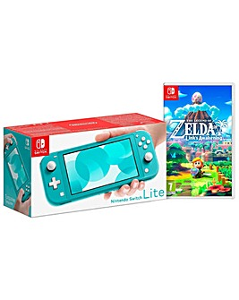 Nintendo Switch Lite Turquoise and Zelda