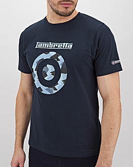 Lambretta Camo Target T-Shirt