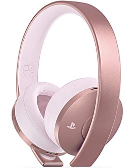 Playstation 4 Rose Gold Wireless Headest