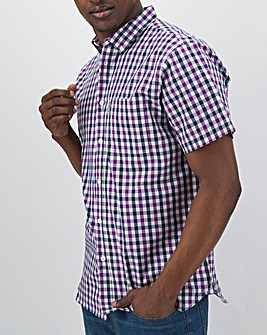Lambretta Gingham Check Shirt Long