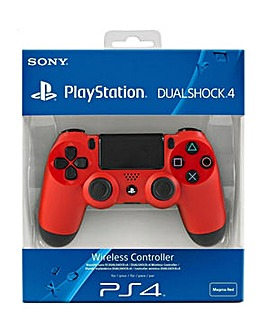 Sony Official Dualshock 4 Controller Red
