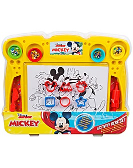 Disney Mickey Roadster Dough Desk Set