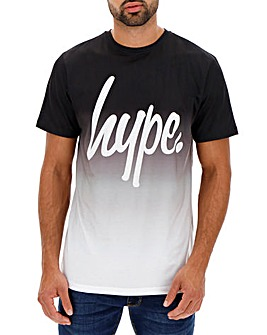 Hype Black Fade T-Shirt
