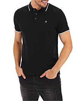 Peter Werth Tipped Collar Polo Long