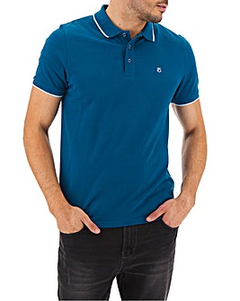 Peter Werth Tipped Collar Polo Regular