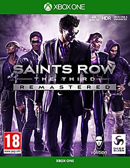 Saints Row The Third Remastered XB1