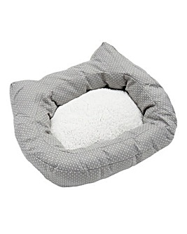 Rosewood Dotty Feline Bed 56cm