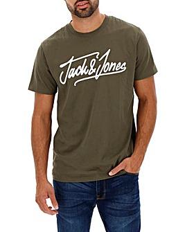 Jack & Jones Script Logo Tee