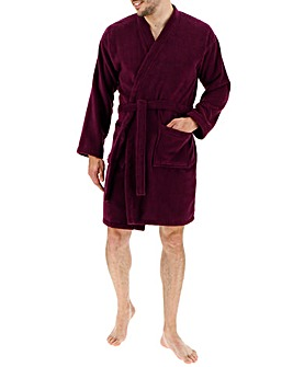 Mulberry Towelling Dressing Gown