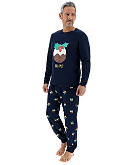 Mens Matching Family Xmas PJ Set