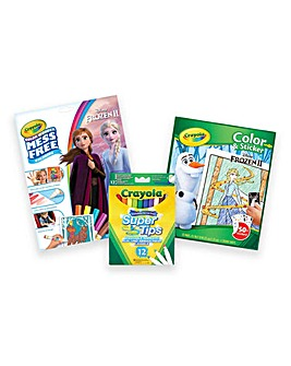 Crayola Disney Frozen 2 Bundle