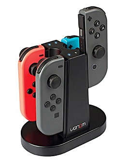 Venom Switch Quad Charging Station - Nintendo Switch