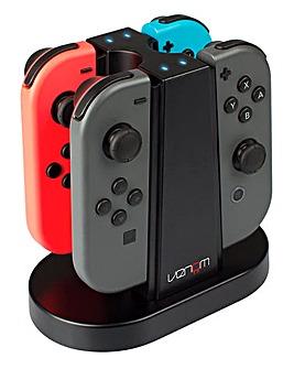 Venom Switch Quad Charging Station - Nintendo Switch