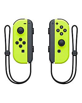 Yellow Joy Con Controller Pair - Switch