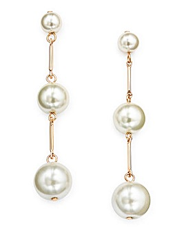 Pearl Drop Earings