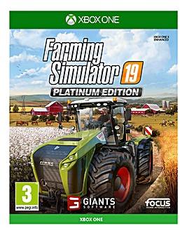 Farming Simulator 19: Platinum - Xbox