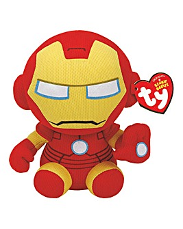 TY Marvel Iron Man Beanie