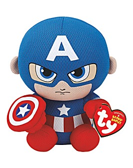 TY Marvel Captain America Beanie